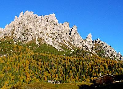 Dolomiti Unesco: M. Ciarìdo ripreso da Soracrepa - Pian dei Buoi, Lozzo di Cadore