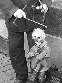 immagine di una marionetta