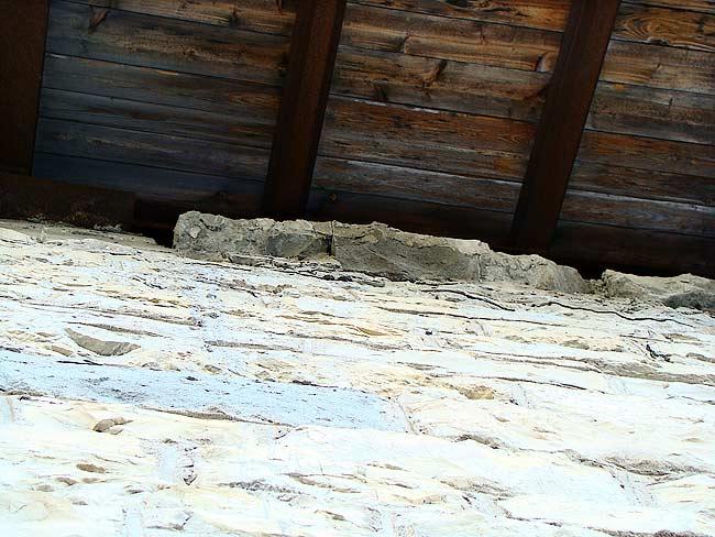 017-crepe sulla ex caserma di Soracrepa facciata ovest