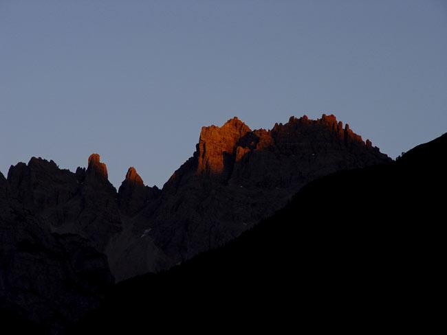 Monte Cridola da Lozzo di Cadore