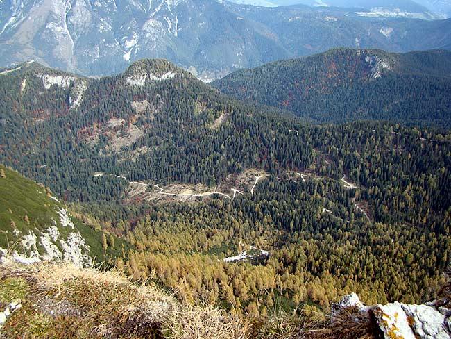 strada silvopastorale di Val da Rin