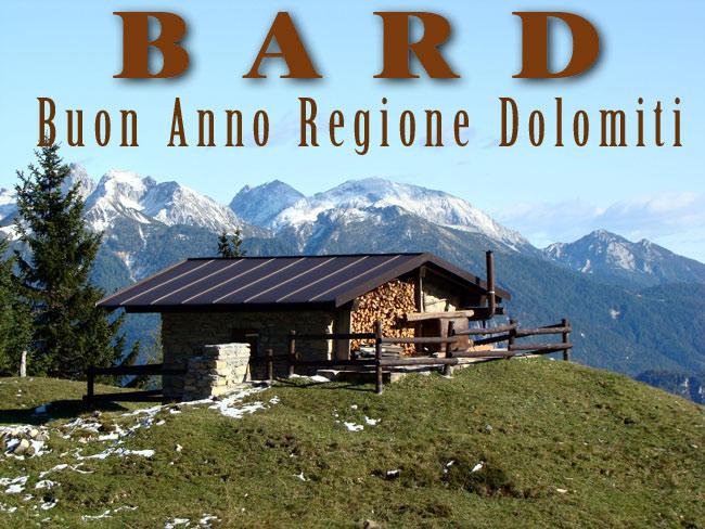 Buon Anno Regione Dolomiti