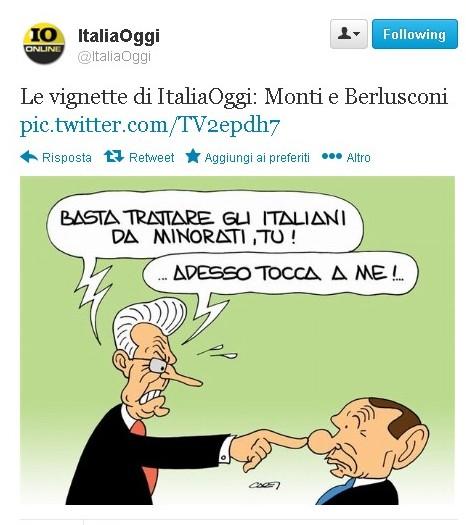 Monti e gli itaniani minorati
