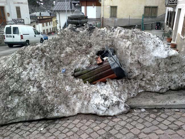 patumienta communalis a Lozzo di Cadore (13 marzo 2013) - Piaza Vecia