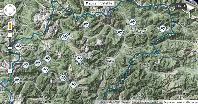 stralcio mappa su sito veneto.to