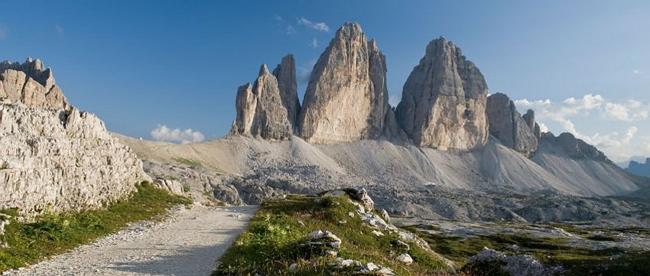 Tre Cime di Lavaredo, lato nord -Parco naturale Tre Cime