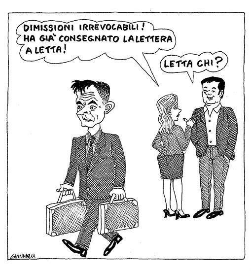 Giannelli sul Corriere della Sera: Letta CHI?