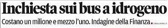 estratto prima pagina del Trentino del 27 gennaio 2014