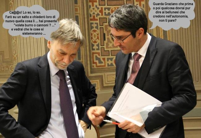 primo incontro a Roma tra Arno Kompatscher  e Graziano Delrio...