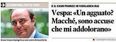 estratto dalla prima pagina del Trentino del 16 gennaio 2014