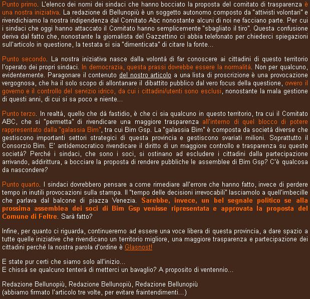 screenshot dal sito Bellunopiù ( http://bellunopiu.it/bim-gsp-facciamo-chiarezza-2/ )