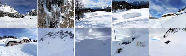 Pian dei Buoi - Soracrepa e Rifugio Ciareido - winter toru by Eugenio Calligaro - 15 febbraio 2014