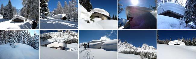 Traversata da Deppo (Domegge) a Valdarin 23-02-2014 - Foto Eugenio Calligaro