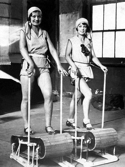 Exercise machines, 1920s