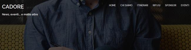 immagine dell'header del sito cadoreproloco.it (allegra e gioviale...)