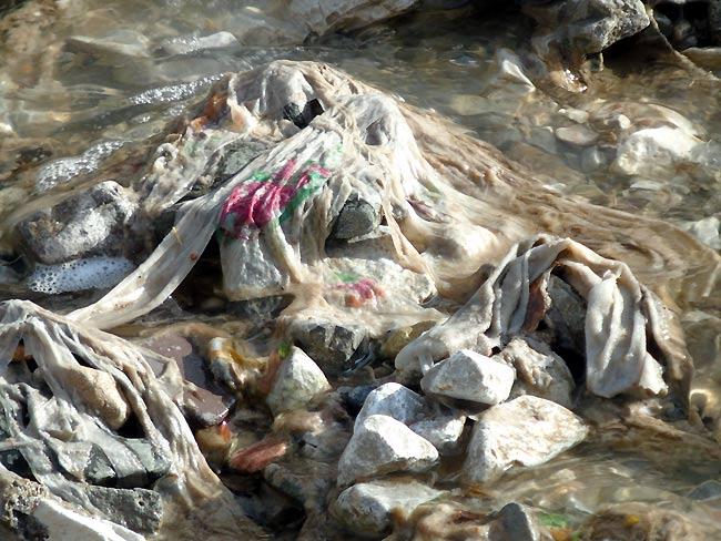 """""""dal tubo fognario esce acqua pressoché pulita"""", dicono alcuni... (foto 01)"""