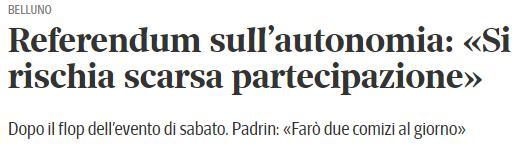 tratto da articolo del Corriere del Veneto