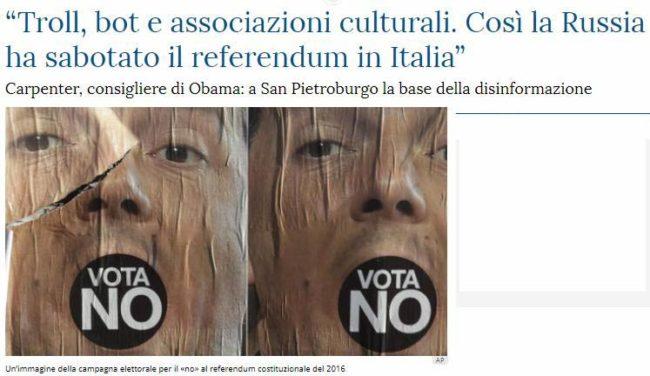 tratto da La Stampa.it 9 dicembre 2017