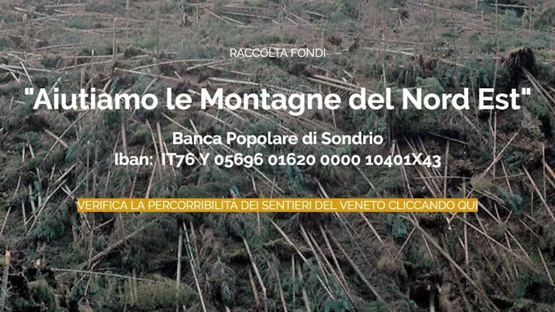 screenshot da homepage del sito Cai Veneto