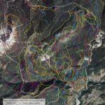 Carte tematiche del territorio di Lozzo di Cadore:: rete sentieristica