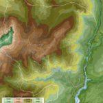 Carte tematiche del territorio di Lozzo di Cadore:: aree altimetriche