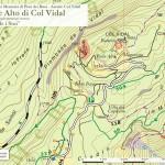 """Cartina interventi: """"Busa de i Stoi"""" - Forte Alto - Area Col Vidal"""