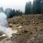 """La pulizia e il ripristino hanno interessato anche le aree complementari del """"Curvon"""" e del Forte Basso qui riprese"""