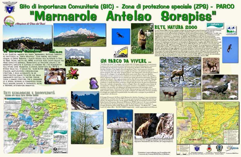 "SIC-ZPS ""Parco"" ""Marmarole, Antelao, Sorapis"""