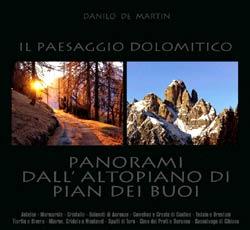 """copertina del libro """"Panorami dall'Altopiano di Pian dei Buoi"""""""