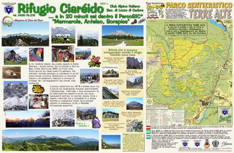 Rifugio Ciareido - Club Alpino Italiano sezione di Lozzo di Cadore Dolomiti