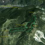 Il Parco della Memoria in 3D (da Google Earth)