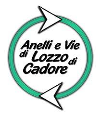 logo degli Anelli e Vie di Lozzo di Cadore
