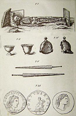 Nicchia sepolcrale e resti del dominio romano