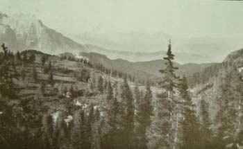 """""""La fosca Aiarnola"""", la Valle di Campiviei e """"il verde Comelico"""" visti da Pian dei Buoi (Foto Gerardini)"""