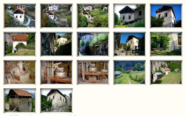 Galleria Roggia dei mulini: il mulino Del Favero