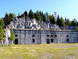 Il forte Alto di Col Vidac